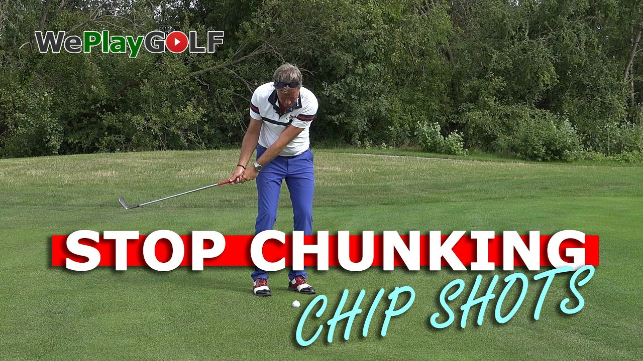 STOP CHUNKING your CHIP SHOTS - Best GOLF practice drill
