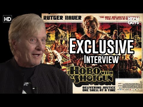 Hobo with a shotgun - Adam Lowes interviews screen legend, Rutger Hauer for his brand new movie, Hobo with a Shotgun which is released in the UK 15th July. The film is directed by...