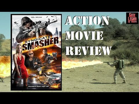 SYNDICATE SMASHER ( 2018 Mel Novak ) Crime Action Movie Review