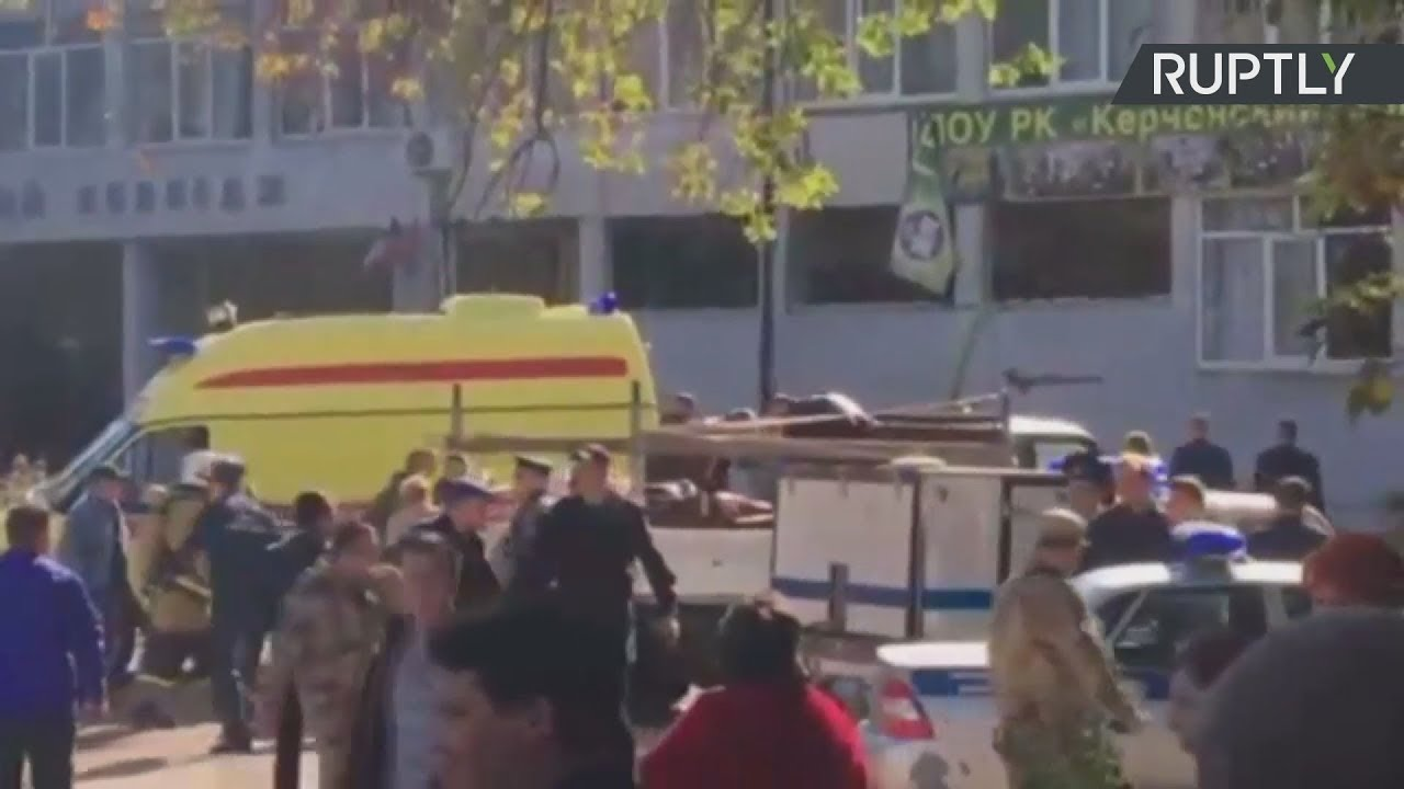 Δέκα νεκροί από έκρηξη αερίου σε σχολή στην Κριμαία