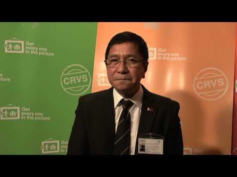 #Team CRVS Interviews: Gerardo V Bayugo, Department of Health, Philippines