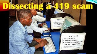 Video Dissecting a 419 scam MP3, 3GP, MP4, WEBM, AVI, FLV Juli 2018
