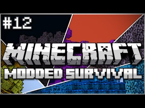 Minecraft: Modded Survival Let's Play Ep. 12 – Fight for the Kingdom