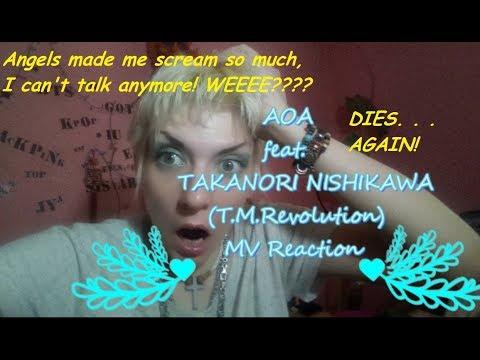 AOA feat. TAKANORI NISHIKAWA (T.M.Revolution) MV Reaction [DIES AGAING!!!!]