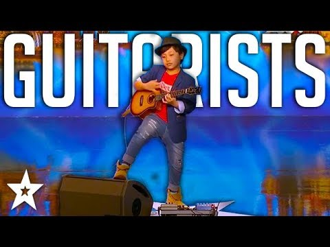 KID ROCK! Best Kid Guitarists Around The World On Got Talent Global