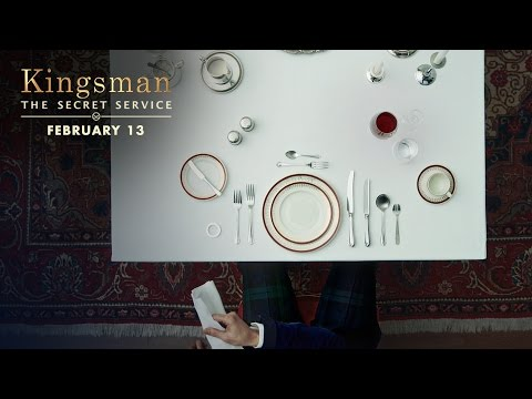 Kingsman: The Secret Service (Viral Clip 'Dinner Etiquette')