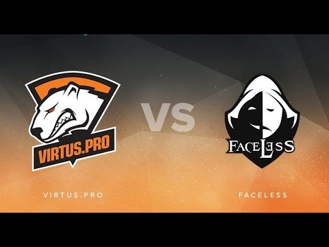 Faceless против Virtus Pro. Dota Pit Season 5
