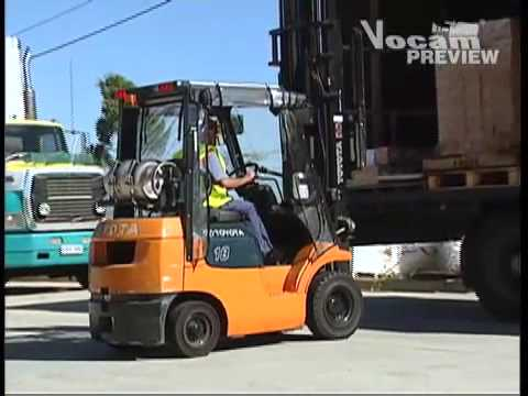 Forklift Safety Video - Forklift Stability Essentials (SAFETY-TV PREVIEW)