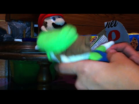 Mario Party Mario And Luigi Plush Unboxing