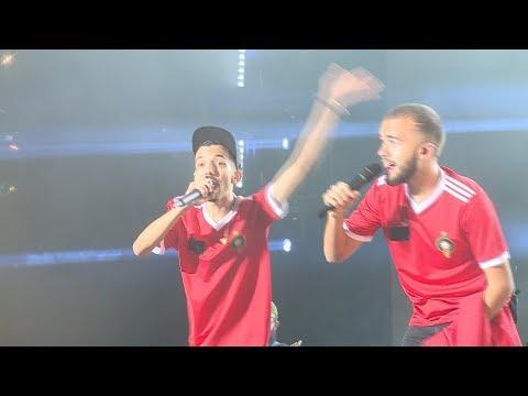 """le duo Bigflo et Oli et Dadju propulsent le public de l'OLM Souissi vers """"la lune"""""""