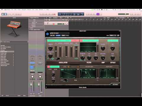 Tutorial: Popular Dubstep FM Screech Bass In Logic Pro X
