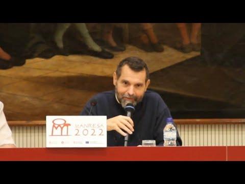Xavier Melloni ha presentat 'Èxode i èxtasi en Ignasi de Loiola' a Manresa