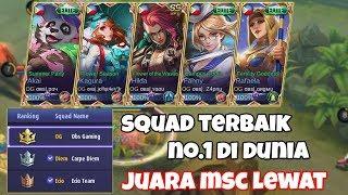 Video Inilah Squad Mobile Legends Terbaik Di Dunia Nomor 1 Obs Gaming FULL Team, Juara MSC IDNS Lewat Coy MP3, 3GP, MP4, WEBM, AVI, FLV November 2018