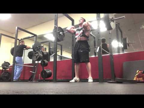 Heavy Deadlifts, Squats, and a Random Shoulder Exercise