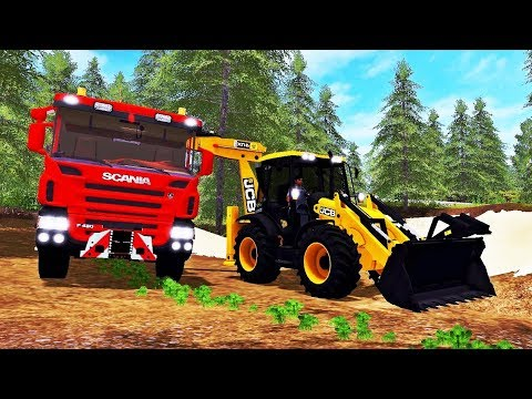 JCB TRACTOPELLE 4CX Tractors final