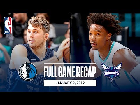 Video: Full Game Recap: Mavericks vs Hornets | Luka Leads Dallas