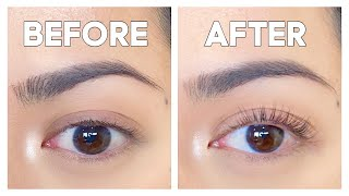 Giving Myself A Lash Perm For The First Time | Lash Lift 2020 by ThatsHeart