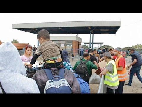 Προσφυγική κρίση: Οδοιπορικό του euronews στα σύνορα Κροατίας- Ουγγαρίας