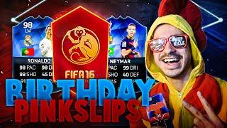 FIFA 16 : RONALDO & NEYMAR TOTY GEBURTSTAGS SPECIAL PACK SLIPS !!, neymar, neymar Barcelona,  Barcelona, chung ket cup c1, Barcelona juventus