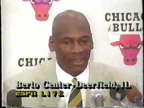 October 6th, 1993: Michael Jordan Announces Retirement