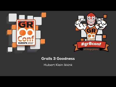 Grails 3 Goodness