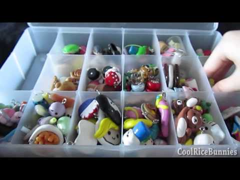 Charms - Watch in HD! ♥ I've been making polymer clay charms since June 2012, and here are all my current charms in my collection thus far ^-^ Keep in mind this is ...