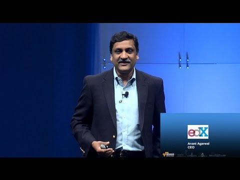 AWS Government, Education and Nonprofits Symposium 2014: EdX – Reinventing Education