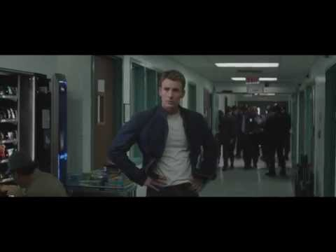 "Captain America: The Winter Soldier. Steve And Natasha Scene. ""You're A Terrible Liar"" Clip"