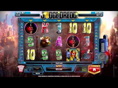 Judge Dredd Online Slot från NextGen