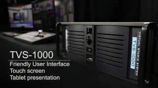 TVS-1000 Trackless VirtualStudio System - User Interface | Touch Panel | Tablet