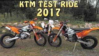 8. KTM TEST RIDE 2017 EXC 250 300 450