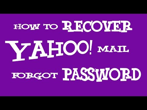 Yahoo Mail Forgot Password 2018 - How To Recover Yahoo Password Using Mobile Phone