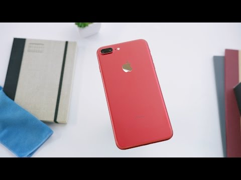 红色iPhone 7开箱文曝光  科技玩家称最上相款式!