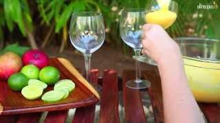 Mousse crémeuse à la mangue