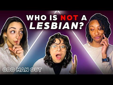 6 Lesbians vs 1 Fake | Odd Man Out