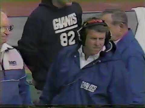 1986 Broncos Giants First Half