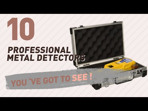 Professional Metal Detectors // New & Popular 2017