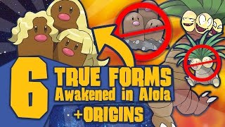Top 6 True Forms Awakened in Alola (with Lore) - Pokémon Sun and Moon by Tyranitar Tube