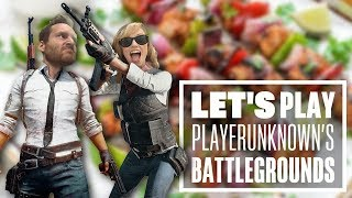 Let's Play PUBG gameplay with Ian and Aoife: Sausages, Champagne, and Cat Farts