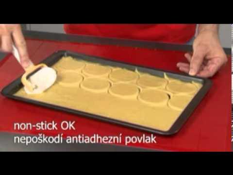 Видео Ролики, скалки, скребки Tescoma Колесико для нарезки пиццы DELICIA Tescoma 630022