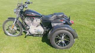7. BIC Trikes 2004 Harley Davidson Sportster with powder-coated frame.