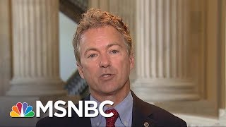 Sen. Rand Paul, R-Ky., says while the government isn't good at 'things,' he wants every American to have low-cost health...