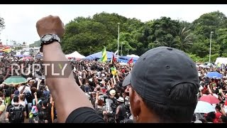 Hundreds of protesters descended on France's Guiana Space Centre in Kourou on Tuesday, denouncing it as a symbol of colonialism that highlights economic disp...