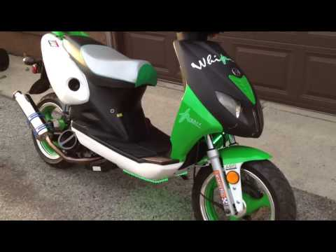150cc modified gy6 scooter