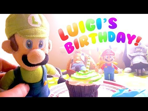 Luigi's Birthday! - Cute Mario Bros. (видео)