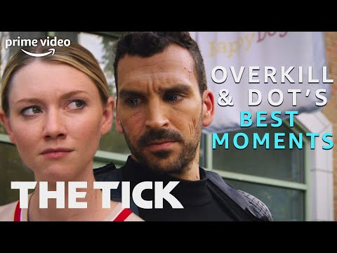 Overkill and Dot's Best Moments | The Tick | Prime Video