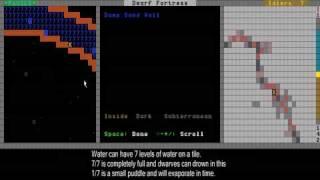 Dwarf Fortress Video Tutorial part 03 - Understanding the DF world & Naming Dwarfs