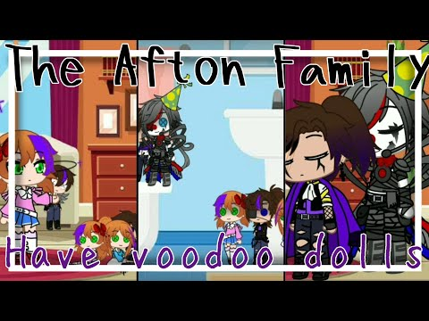 The Aftons have voodoo dolls || Gone wrong || Original || Gacha Club
