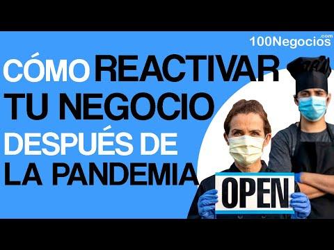 ¿Cómo Reactivar Tu Negocio Después De La Pandemia?