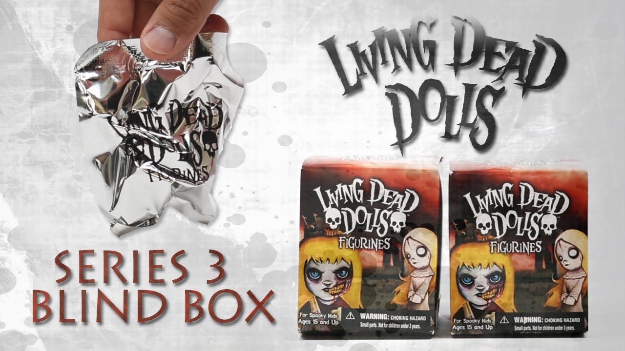 Living Dead Dolls SERIES 3 Blind Box